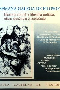 II Semana Galega de Filosofía