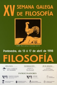 XV Semana Galega de Filosofía