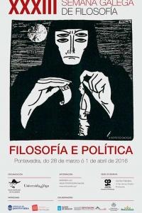 XXXIII Semana Galega de Filosofía