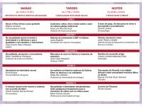 Tríptico XXXII Semana Galega de Filosofía