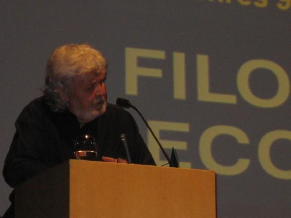 Xosé Manuel Beiras na Clausura da XXVII SGF